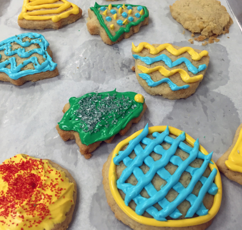 sugar cookies from scratch