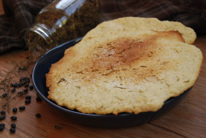 Rosemary flatbread from scratch